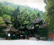 emei mountain in chengdu sichuan province china