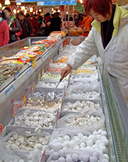 frozen food in china