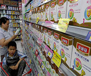 milk powder in china supermarkets